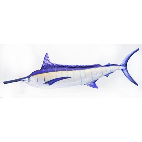 Gaby blauer Marlin lit up Monster Kissen, Länge ca. 200 cm
