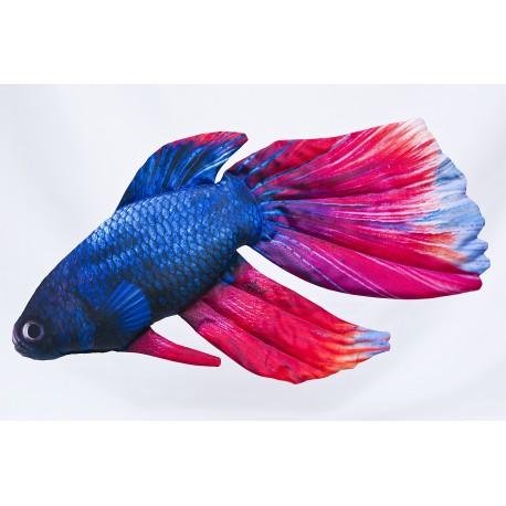 Gaby Siamesischer Kampffisch Kissen, Länge ca. 53 cm