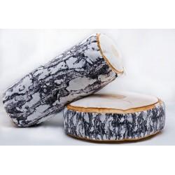 Gaby Birke Holz Kissen, Größe ca. 40 cm X 15 cm