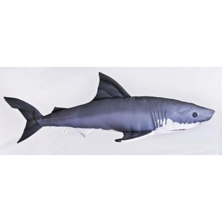 GABY Weißer Hai Giant Kissen, Länge ca. 120 cm