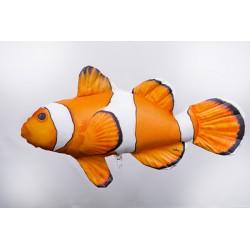 Gaby Clownfisch Mini Kissen, Länge ca. 32 cm