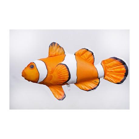 Gaby Clownfisch Kissen, Länge ca. 56 cm