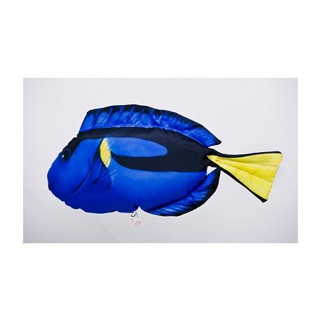 Gaby Paletten Doktorfisch Mini Kissen, Länge ca. 32 cm