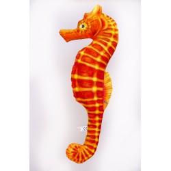 Gaby Seepferdchen Orange Kissen, Länge ca. 60 cm