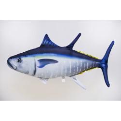 Gaby Atlantischer Blauflossen Thunfisch Kissen, Länge ca. 65 cm