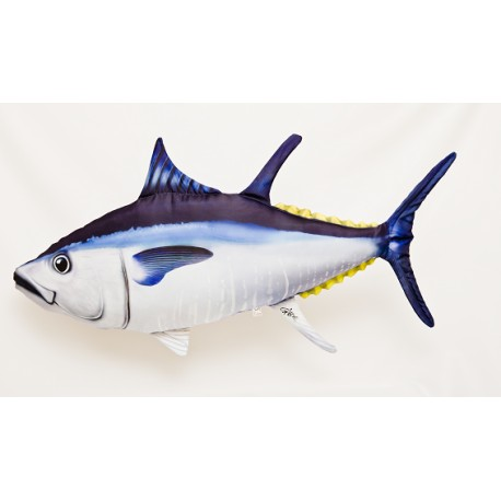 Gaby Atlantischer Blauflossen Thunfisch Kissen, Länge ca. 100 cm