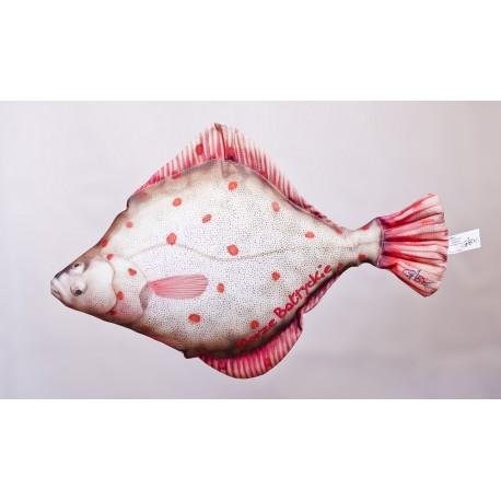 Gaby Flunder Kissen, Länge ca. 40 cm