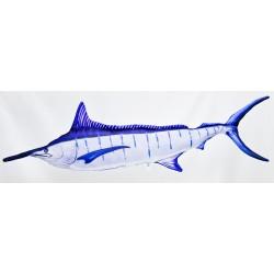 Gaby blauer Marlin Kissen, Länge ca. 118 cm