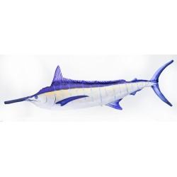 Gaby blauer Marlin lit up Kissen, Länge ca. 118 cm